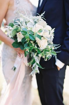Loving the Return To Romantic Bouquets! On SMP: http://www.StyleMePretty.com/2014/02/10/rustic-chic-australian-shoot-at-gurragawee/ Photography: Feather + Stone