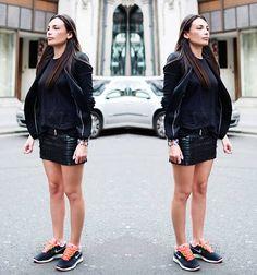 Tênis neon #streetstyle #style #fashion #look #looks #moda #tenis #neon