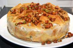 Hartige Marokkaanse taart