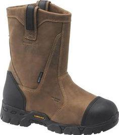 Carolina Men's Insulated Waterproof Broad Composite Toe Wellington Boots