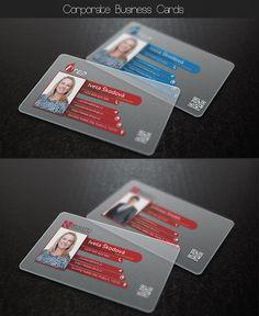 Business Card Template - Translucent