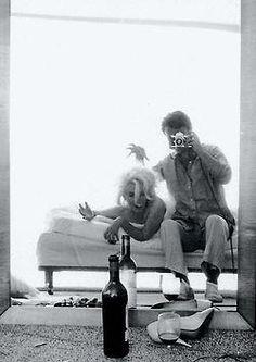 "Bert Stern with Marilyn Monroe, ""The Last Sitting"",1962"