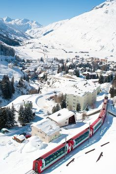 Winter in Canton of Uri, Switzerland, from Iryna