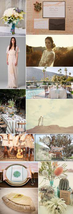 Inspiration under the desert sun #weddings #wedding #decor #desert #sun #photography #fashion