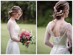 Ankia #couturebridalgown #moirahughes #custom #lace #couture #bridal