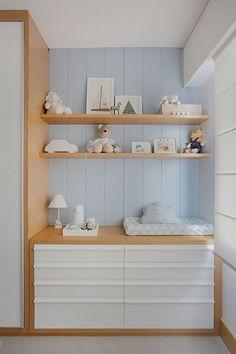 Baby Bedroom, Baby Boy Rooms, Baby Room Decor, Kids Bedroom, Baby Changing Tables, Baby Closet Organization, Baby Storage, Baby Room Design, Dream Baby
