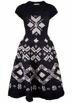 yohji yamamoto knit dress