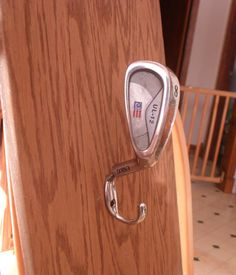 Up  Cycled Golf Club Man Cave Hat Coat Hook by TheGiftTrunk, $9.99