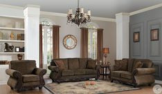 #LivingRoomAreaRugs Brown Living Room Decor, Living Room Sets, Living Room Chairs, Living Room Table Sets, Beige Living Rooms, Living Room Grey, Living Room Wall Color, Brown Living Room, Buy Living Room Furniture