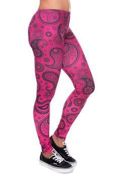 a42b24f089066 295 Best Women's Leggings images | Print leggings, Printed leggings ...