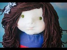 Aprenda como fazer lindas bonecas de Pano!  ( handmade dolls )