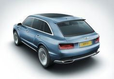 Bentley EXP 9 F, back view.