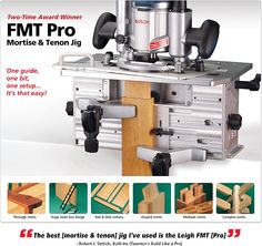 Leigh FMT Pro Mortise and Tenon Jig