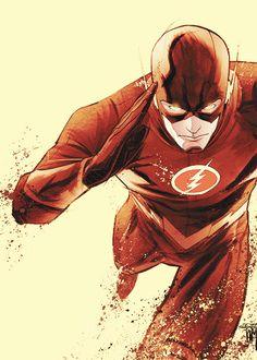 Flash: Season Zero Variant by Francis Manapul