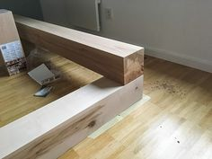 Bauanleitung: DIY Familienbett selber bauen » Textilsucht® Diy Sofa, Diy Bed, Family Bed, Post And Beam, Childrens Beds, New Room, Bed Design, Floating Nightstand, Bed Frame