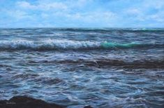 Marine art 2 - Welsh Artist - Vernon W. Seascape Art, Close Image, Vernon, Waves, Arrow Keys, Gallery, Artist, Painting, Outdoor
