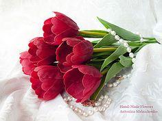 Air Dry Clay Tutorials: Floral Week: Tulip Tutorial