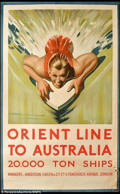 A savvy bargain hunter who snapped up a box of old travel posters for £20 at a car boot sale is set to cash in after they were valued at a whopping £4,000. The collection included advertisements to far-flung locations like Australia