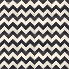 Cement Tile Shop -  Encaustic Cement Tile Chevron Black 4.4sq ft $52