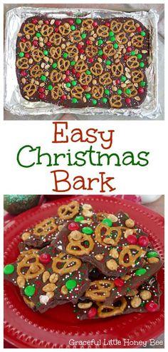 Easy Christmas Bark