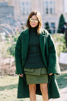 Vogue Australia Senior Fashion Editor, Christine Centenera,before Chloe, Paris, March 2015