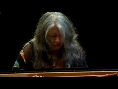 Martha Argerich Bach Partita no.2.  She is old and beautiful and fabulous.  And I love her.
