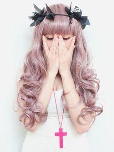 patel hair | pastel hair pink(Dusty Rose Gold Hair)