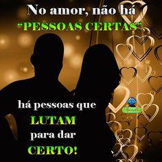 No amor não há