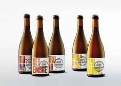 Rediseño etiquetas de una cerveza artesana, by Tomás Castro