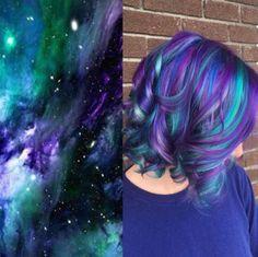 Awesome Galaxy Hair!