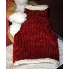 Handmade Dog / Cat Clothing - Knit Pet Pullover Sweater Vest, mrs c Listing in the Accessories,Pets,Home & Garden Category on eBid United States | 137443043