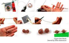 Wire Nest Beads Tutorial | Flickr: partage de photos!