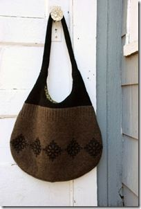 sweater purse