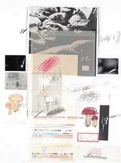 Cy Twombly, Natural History, Part I, Mushrooms N° X