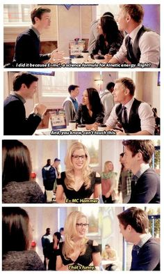 The Flash - Felicity and Barry #1.4 #Season1 me encantan ellos