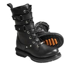 Harley-Davidson Bonita Motorcycle Boots - Leather (For Women))