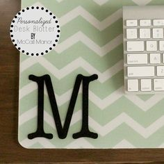 Personalized Desk Blotter | McCall Manor