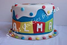 Resultado de imagen para pocoyo cookies Birthday Cake, Cookies, Sweet, Desserts, Food, Decorating Cakes, Candy Stations, Pocoyo, Fondant Figures