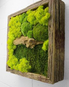 One of our best sellers so far; Green Bridge🌱 #flowerboxus #architecture #design #art #wallgarden #wallart #preservedflower #interiordesign #plants #mossart #mosswall #verticalgarden #nature #green #wallgarden #preservedflower