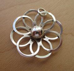 Kultaseppa Salovaara sterling silver pendant by Inglenookery