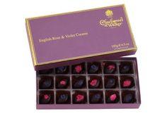 Charbonnel et Walker rose and violet Creams