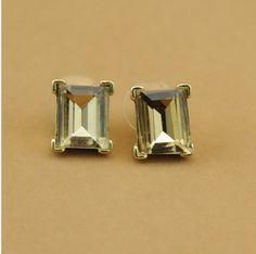 Kenneth Jay Lane KJL Crystal Stud Earring [KJL039] - $22.00 - lucky brand , j.crew , lia sophia jewelry on sale !