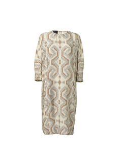 Alteas ikat printed dress - # Q56232005 - By Malene Birger Autumn Winter 2014 - Women's fashion