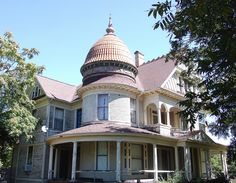 https://flic.kr/p/gbHcF9 | 1890's Trout House Honey Grove | A documented George F. Barber design and one of several designed by Barber on this street. The domed tower with its grand metal finial atop makes an impressive architectural statement. Although in need of some attention, this is one of Honey Groves most important surviving Victorian homes. It would have been a landmark home in a large city but even more so in the small community of Honey Grove Texas.