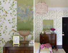 dramatic guest room makeover on domino.com