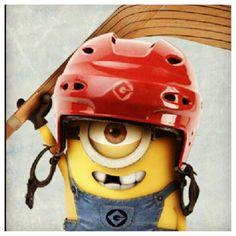 Minion Hockey hahaha