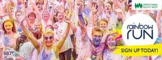 The Rainbow Run on The Downs in Bristol on 20 June 2015 at 1pm