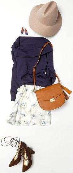 花柄スカートでバレンタインデートへ。 ルミネエスト新宿のアイテムから、春を意識した通勤やバレンタインデーなどに着たい、女の子らしさ漂うスカートスタイルのコーディネートをご紹介! 人気スタイリスト入江未悠さんが「大人かわいい」をテーマに、上品でまねしやすいスタイリングを提案します!