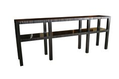 """Nue Console Table by Mike Bell 85"""" x 15"""" x 35"""""""