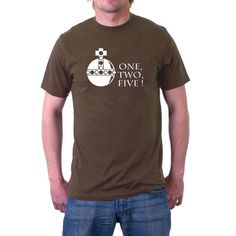 And lo, the T-shirt of the Holy Hand Grenade of #Antioch, as almost shown to you during the search for the Holy Grail. Ownest thou a shirt displaying the premium weapon of l... #funny #british #comedy #jerusalem #humour #antioch